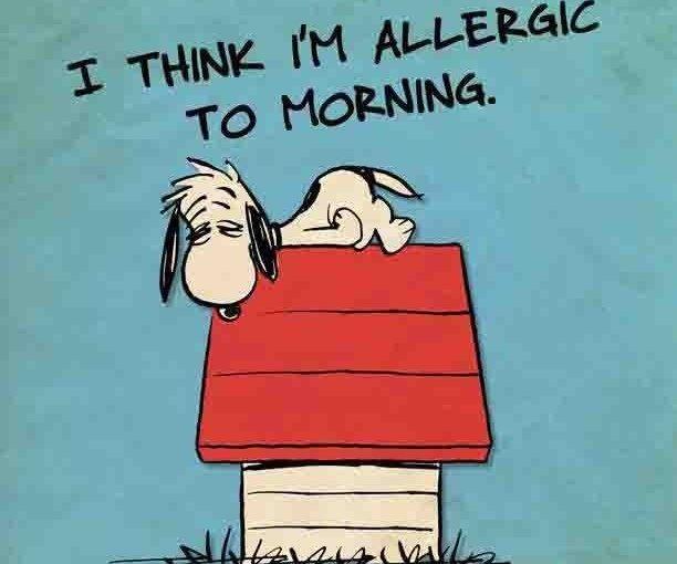 Sleep…or lack of!